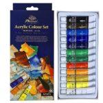 Ακρυλικά χρώματα 12τεμ. x 12ml