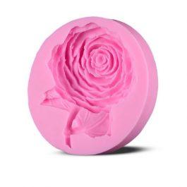 """Καλούπι Σιλικόνης 7,5X6,8X1,9 cm """"Rose"""""""