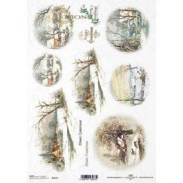 Ριζόχαρτο  Decoupage  A4 –  Winter PICTURES Visions – 1272