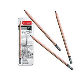 Talens σετ 6 μολύβια σχεδίου σε μεταλλική κασετίνα