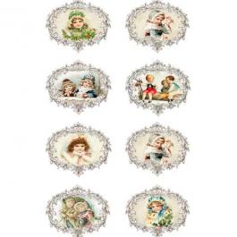 Ριζόχαρτο Decoupage A4 (21X29,7 cm) Christmas – 134