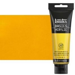 Liquitex Basics 118ml Acrylic 161 Cadmium Yellow Medium Hue