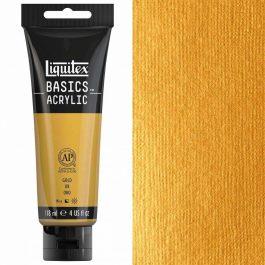 Liquitex – Basics Acrylic Colour – 118ml Gold-234