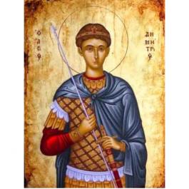 O Άγιος Δημήτριος