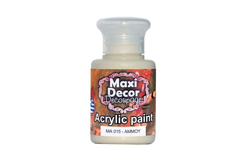 Ακρυλικά χρώματα Maxi Decor