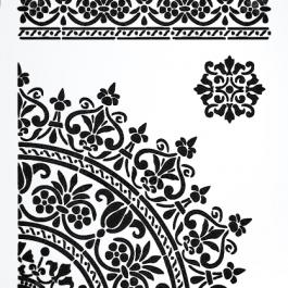 Stencil -21×30- da003