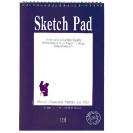 Next sketch pad μπλοκ σχεδίου 90γρ. 12.5x.17.5