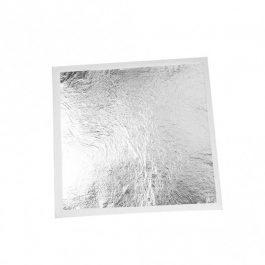 25 Φύλλα Ασήμι Imitation 14×14 cm, Ελεύθερο