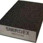 Smirdex Λειαντικό Σφουγγαράκι (4×4) 100x70x25mm Μεσαίο