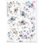 """Ριζόχαρτο """"Small flowers"""" 21×29εκ. (ITD-R1369)"""