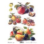 """Ριζόχαρτο """"fruits"""" 21×29εκ. (ITD-R397)"""