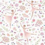 """Χαρτοπετσέτες  """"μπαλαρίνες ροζ"""" 33×33εκ"""