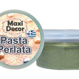 Πάστα Perlata πράσινος-χρυσός 100ml