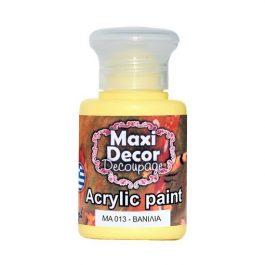 Ακρυλικά χρώματα Maxi Decor βανίλια 60ml