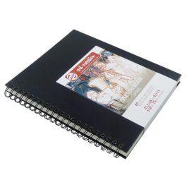 Talens Scetch book σπιράλ μαύρο 80φυλ. 21×28εκ. 110 γρ.