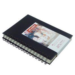 Talens Scetch book σπιράλ μαύρο 80φυλ. 14×21εκ. 110 γρ.