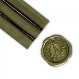 Βουλοκέρι 13,5cm σε Ράβδο Φ 11mm Olive Gold