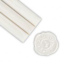 Βουλοκέρι 13,5cm σε Ράβδο Φ 11mm Pearl White
