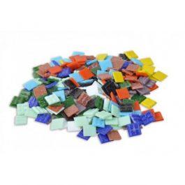 Ψηφίδες Glass Mosaic 10x10x4mm 250gr Ανάμικτες Αποχρώσεις