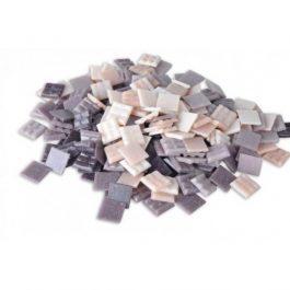 Ψηφίδες Glass Mosaic 10x10x4mm 250gr Μωβ & Ροζ Αποχρώσεις