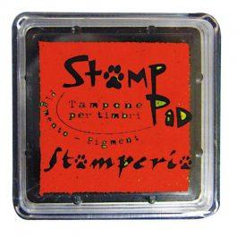 Stamperia Ταμπόν 3x3cm Κόκκινο