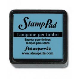 Stamperia Ταμπόν 3x3cm Μπλε Ανοιχτό