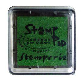 Stamperia Ταμπόν 3x3cm Πράσινο
