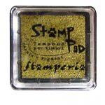 Stamperia Ταμπόν 3x3cm Χρυσό