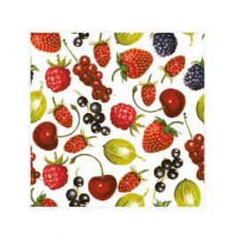 """Χαρτοπετσέτες  """"καλοκαιρινά φρούτα"""" 33×33εκ."""