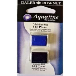 Χρώμα Ακουαρέλας DR AQUAFINE H/P BLISTER SET 12 COB BLU HUE/PHTH BLU 131017012
