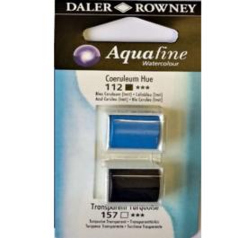 Χρώμα Ακουαρέλας DR AQUAFINE H/P BLISTER SET 13 COER BLUE/TRAN TURQ 131017013