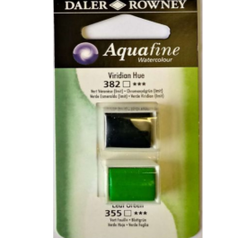 Χρώμα Ακουαρέλας DR AQUAFINE H/P BLISTER SET 14 VIRID HUE/LEAF GREEN 131017014