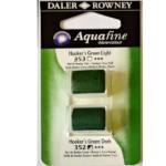 Χρώμα Ακουαρέλας DR AQUAFINE H/P BLISTER SET 15 HOOKERS GREEN LT/DK 131017015