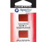 Χρώμα Ακουαρέλας DR AQUAFINE H/P BLISTER SET 18 LT RED/BT SIENNA 131017018