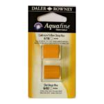 Χρώμα Ακουαρέλας DR AQUAFINE H/P BLISTER SET 2 CAD YELL DP/GAMBOGE 131017002