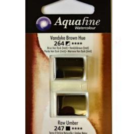 Χρώμα Ακουαρέλας DR AQUAFINE H/P BLISTER SET 20 VAN BRN HUE/RAW UMB 131017020